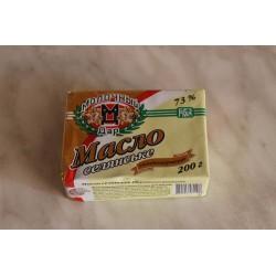 Масло сливочное  73%  фасованное  200 г
