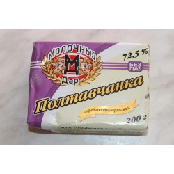 Масло сливочное ДСТУ 73%  фасованное