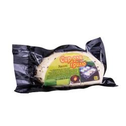 Халуми. Сыр для гриля и жарки без пряностей . Упаковка