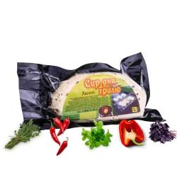 Набор Халуми. Сыр для гриля и жарки (Мята, Тимьян, Базилик, Паприка, Красный перец, Без пряностей))