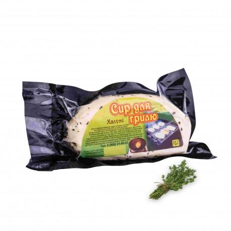 Халуми. Сыр для гриля и жарки с мятой . Упаковка